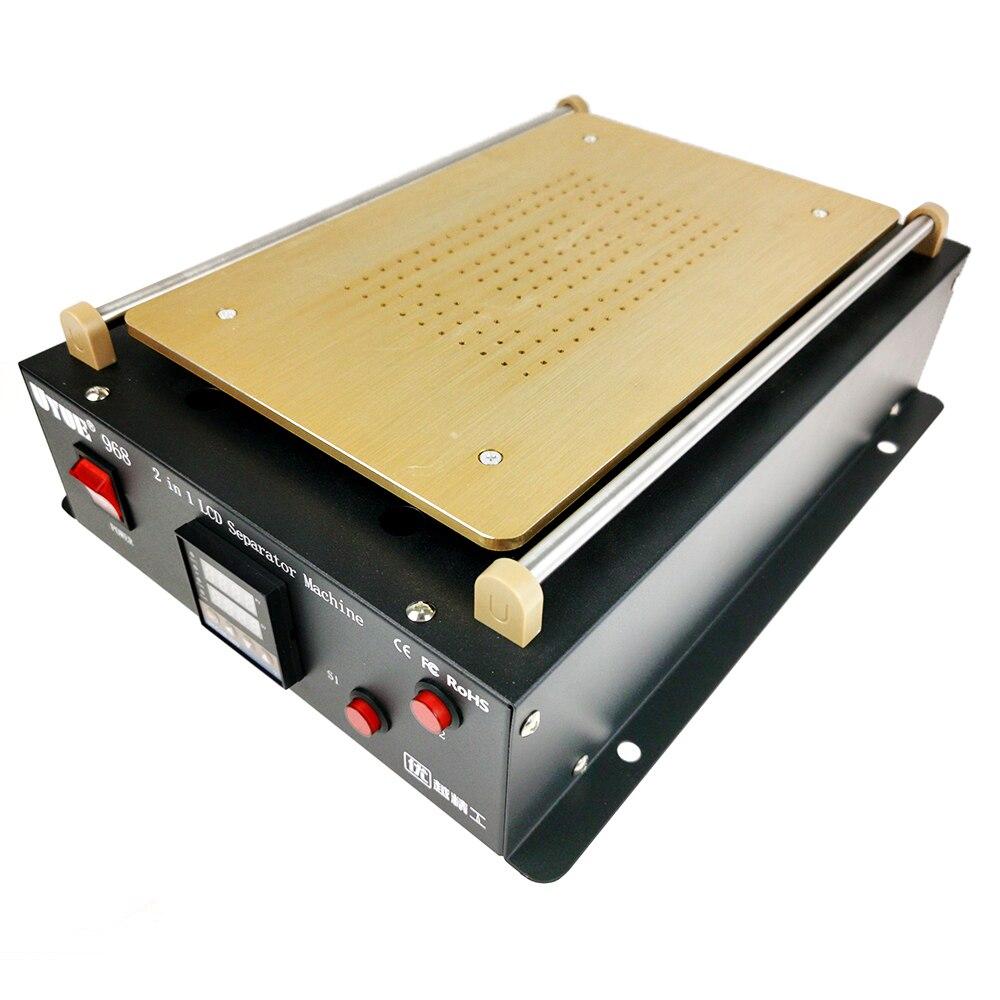 Separator Built-in Vacuum Pump UYUE 968 Double Pump Mobile Phone Screen Separation Machine LCD Screen Splitter Large Size enlarge