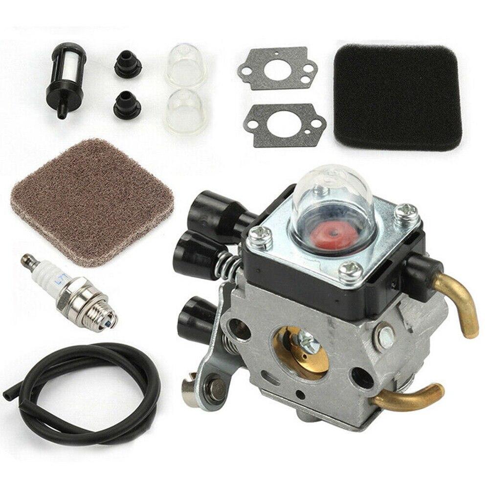 Filtro de combustível do filtro de ar do carburador para stihl fs85 fs75 fs80 km85 hs75 hs80 hs85 kit de filtro de ar fácil de instalar