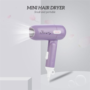 450W Foldable Mini Hair Dryer Household Dormitory Travel Blow Dryer Lightweight Quick Drying Hairdryer Styling Tool Low Noise 31