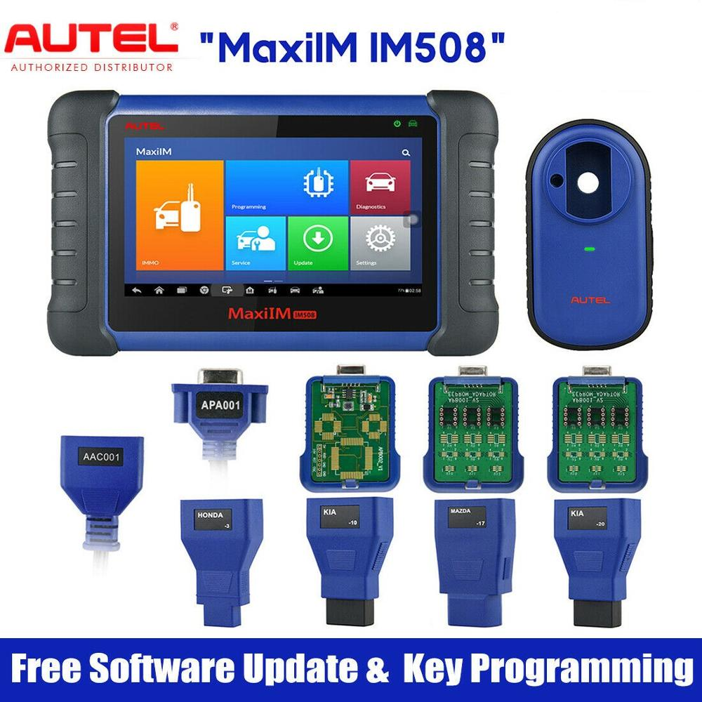 Autel MaxiIM IM508 Wireless IMMO Reset Key Programming Auto Car Diagnostic Tool