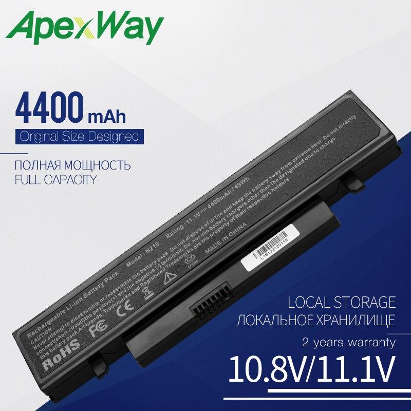 Batería de 11,1 V para Samsung N145 N210 N210P N218 N220 N220P NB30 NB30P NP-N145 NP-N210 NP-N218 NP-N220 NP-X320 X318 X320 X418 X420