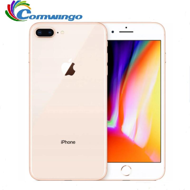 Unlocked Apple Iphone 8plus 3GB RAM 64G/256G ROM Fingerprint iOS 4G LTE smartphone iphone8plus 1080P 5.5 inch screen