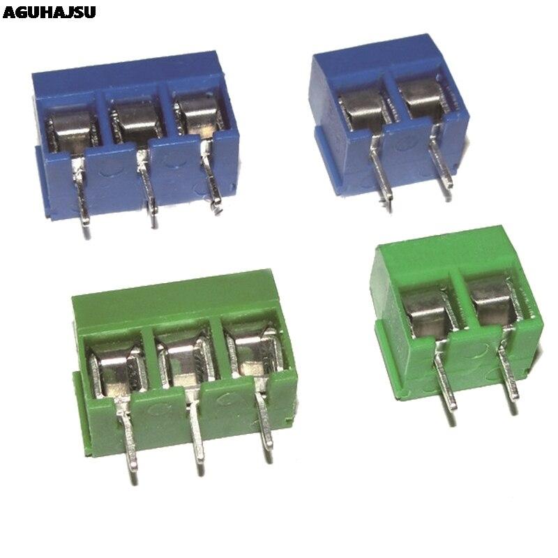 20 Pcs KF301-2P/KF301-3P KF301-5.0-2P KF301-5.0-3P KF301 5.08 Mm Plug-In Schroef Connector