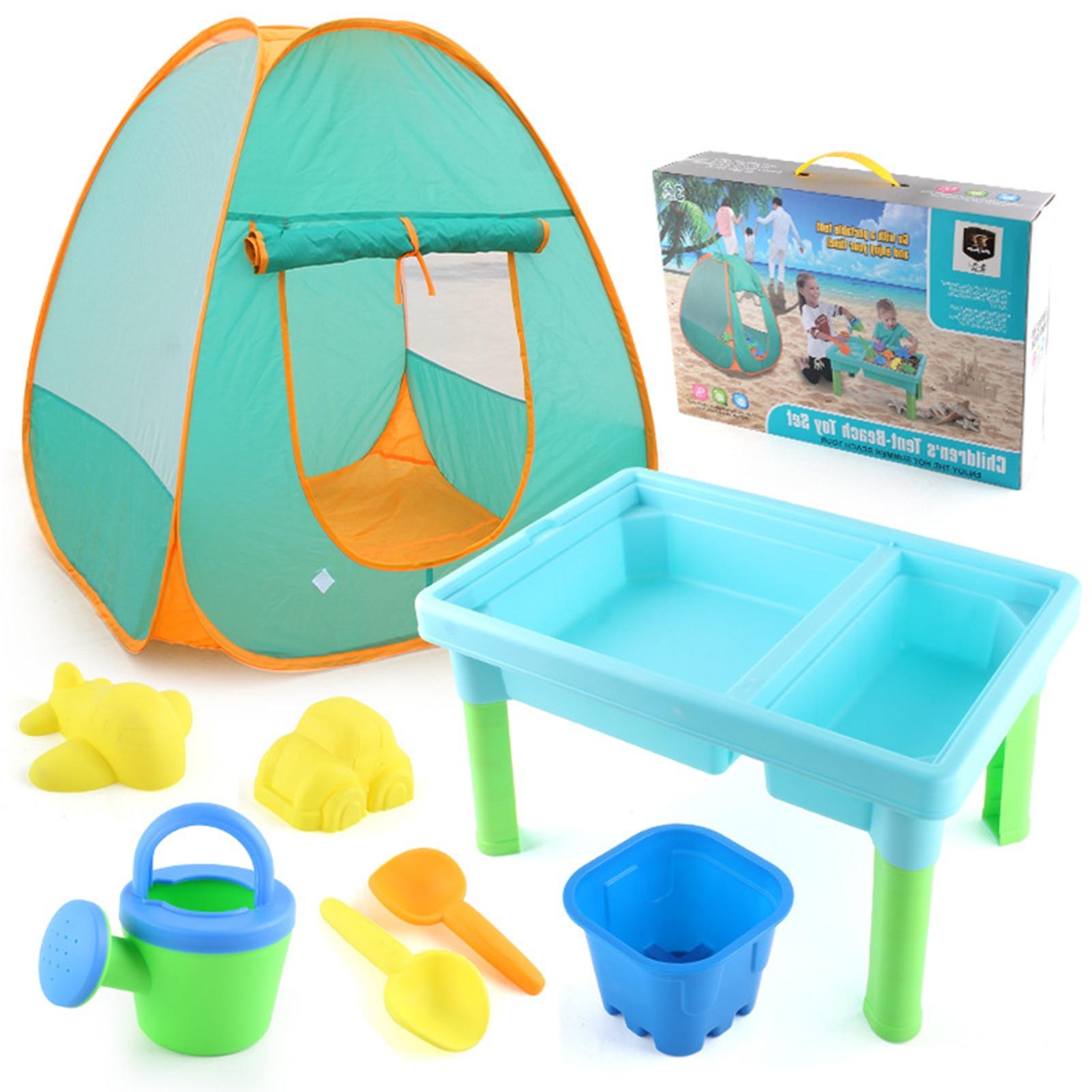 Игрушечная палатка, Пляжная навес, палатка для детей, летняя уличная Пляжная палатка, игровой домик, кемпинг, навес, пляжный тент, детская иг...