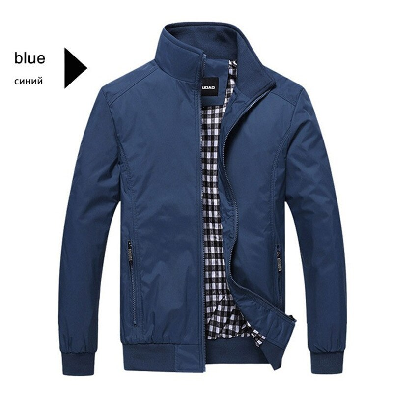 Модные повседневные куртки для мужчин, весна-осень, облегающее пальто, мужские бейсбольные куртки, уличные топы, мужская новая куртка