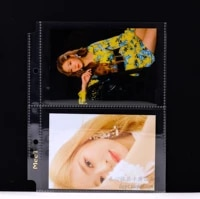 5 Pages 2 Grid Card Page  Album Small Card Collection  Postcard Storage Page  Photo Album Transformation