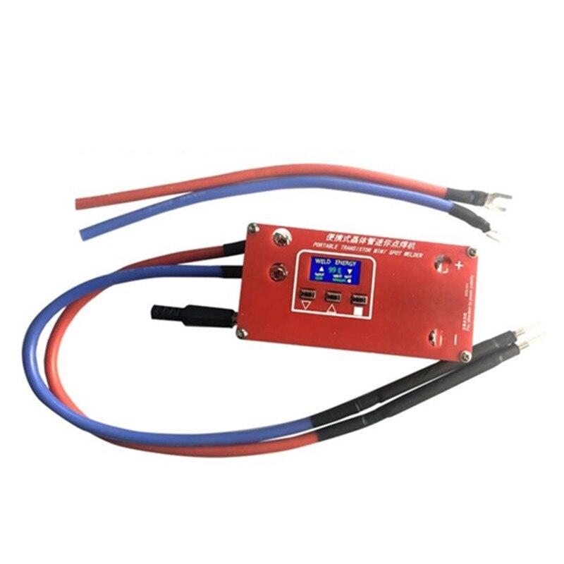 Портативный транзистор DIY Мини точечный сварочный аппарат 18650 литиевая батарея различные сварочные блоки питания
