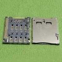 2pcs micro sim card reader socket connector for asus fonepad8 k004 k012 fe380cg fe8030cx fonepad 7 fe7010cg k016 me170 me170c