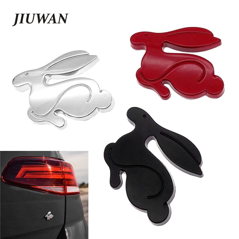 AliExpress - Universal 1 PCS 3D Metal Running Rabbit Emblem Rear Trunk Badge  Cartoons Car Styling Decal For VW Jetta Golf BMW Audi Chevrolet