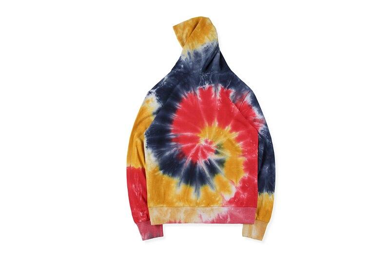 Sudadera con capucha 20SS Justin Bieber dibujó House Drew Tie-Dye para mujer y hombre, Sudadera con capucha, sudadera de gran tamaño para hombre