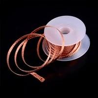 1pc 5mm 2mm 2 5mm 3mm 3 5mm 1 5m desoldering braid solder remover wick wire bga repair tool lead flux