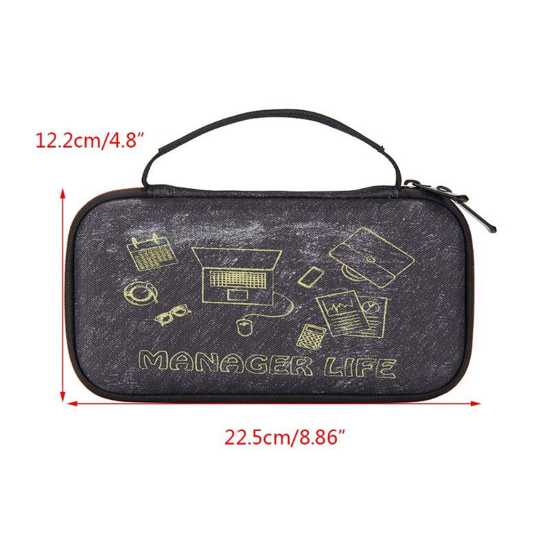 Bolsa de almacenamiento dura EVA Estuche de transporte para ti-nspire CX, calculadora gráfica CAS E65A