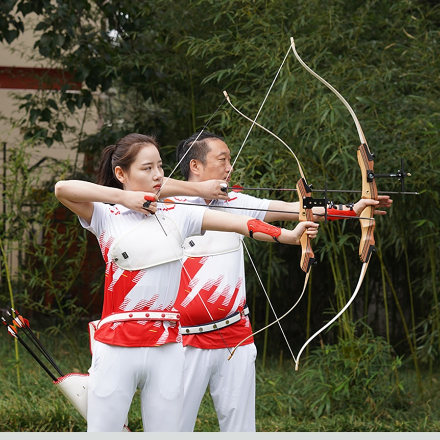 Take-down Bow for Archery Professional 48/62inch Hunting Recurve Bow for Right-handed Outdoor Shooting Sport Practice Bow