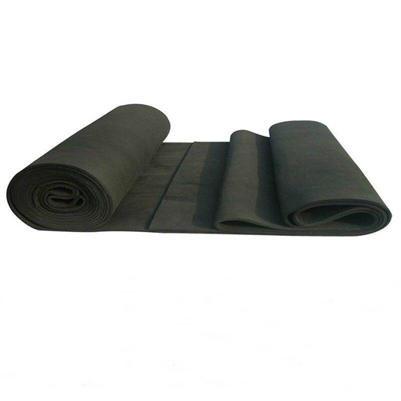 5pcs 3x200x300mm New Arrival Soft Graphite Carbon Felt High Temperature Carbon Fiber For Contamination Adsorption Cleaning