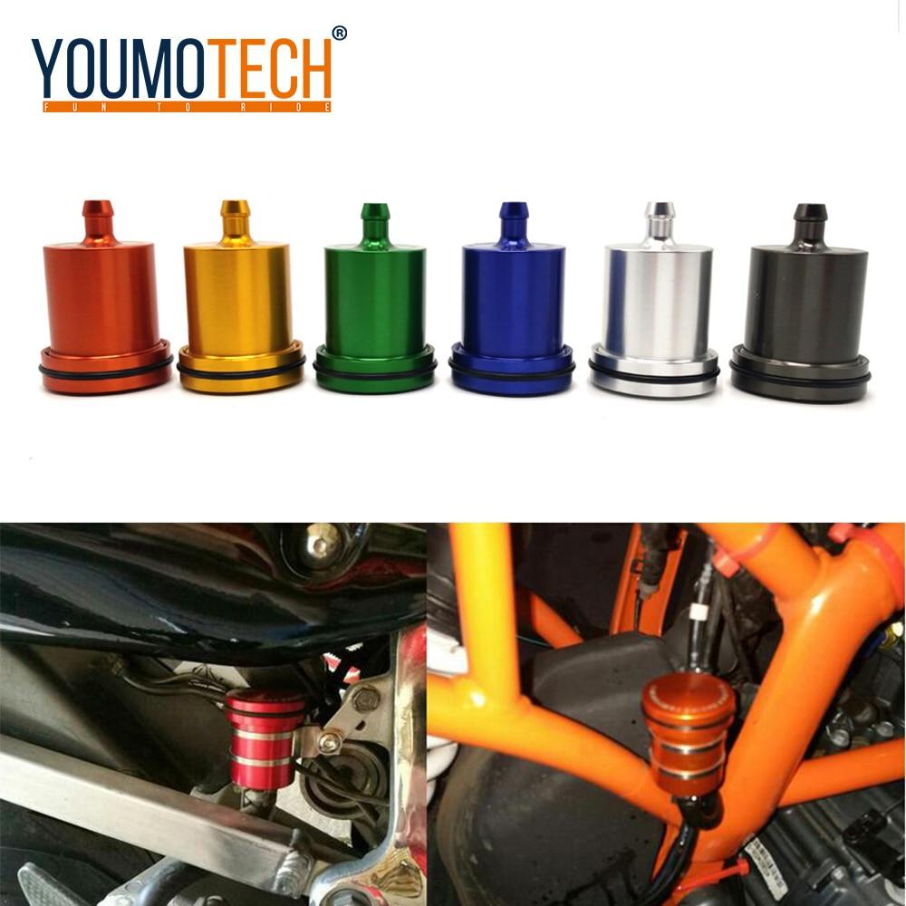 Алюминиевый бак для мотоцикла с ЧПУ, цилиндр для мазута, бачок тормозной жидкости для yamaha YZF R125 R15 R25 r 125 15 25 mt-07