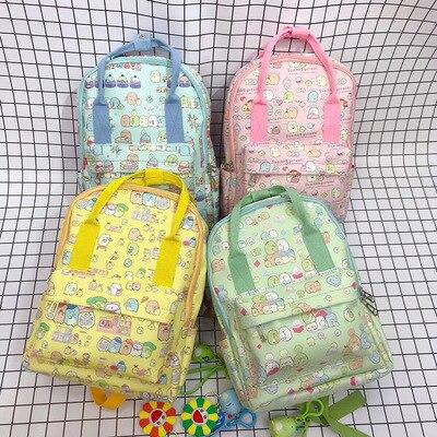 IVYYE engomada Sumikko gurashi moda Anime PU mochilas de cuero bolsos y mochilas informales de viaje mochila Unisex nuevo