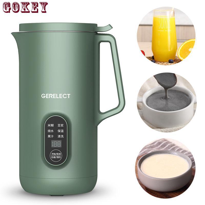 Аппарат для приготовления соевого молока 220 В бесшумный фильтр мл с функциями приготовление соевого молока, соковыжималка, ореховая машина,...