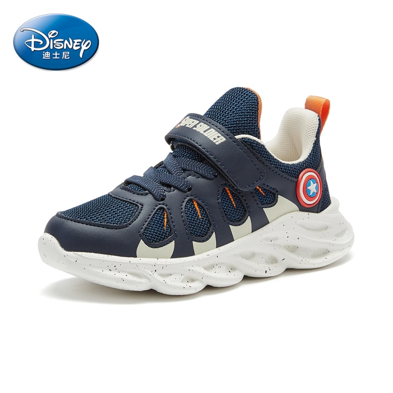 Limited Edition Marvel Heroes Avengers Captain America Boys Sneakers Breathable Lightweight Non-slip Casual Shoes enlarge
