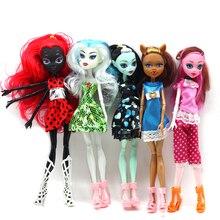 Muñeca renacida, monstruo, mi elfo, universidad, Pony, niña, Zombie, escuela secundaria, muñeca fantasma, Princesa, Lens, muñeca sorpresa para regalo de niños