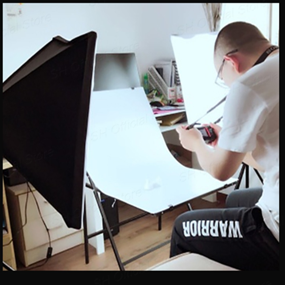 50x70CM Photography Softbox Lighting Kits Professional Continuous Light System Equipment For Photo Studio enlarge