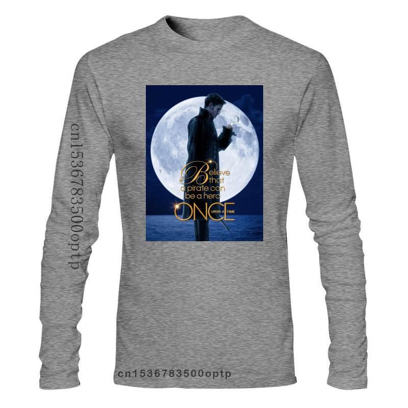 New 2021 Captain Hook Killian Jones Once Upon A Time Men'S Black T Shirt Size S 4Xl 017878