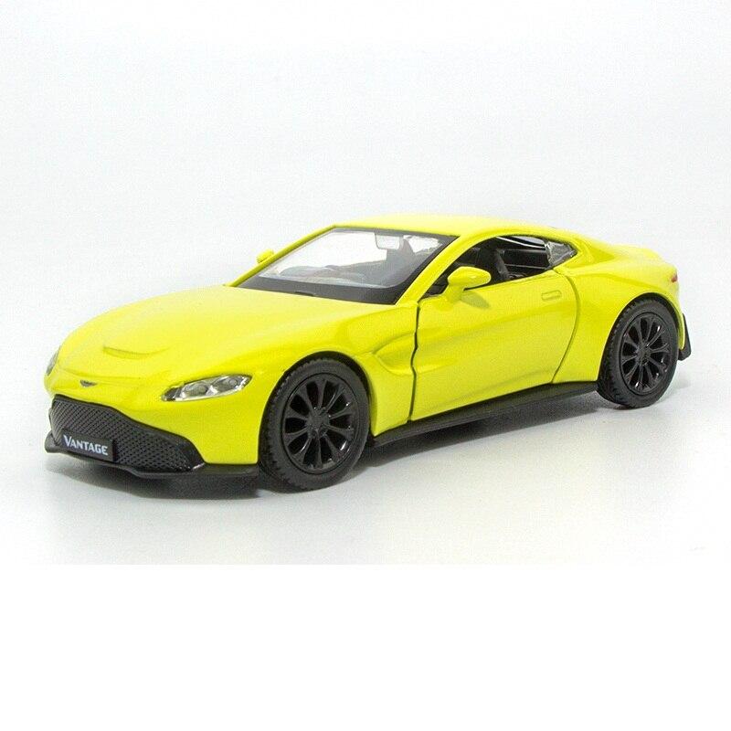Alta simulación exquisitos Diecasts y vehículos de juguete coche de Ciudad RMZ estilo Aston Martin Vantage 136 aleación Diecast modelo de coches de juguete