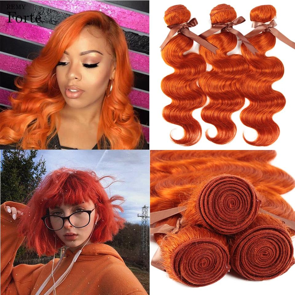 Remy Форте блондин человеческие волосы бразильские волосы, волнистые пряди оранжевый волосы волнистые человеческие волосы пряди 100% Волосы ...