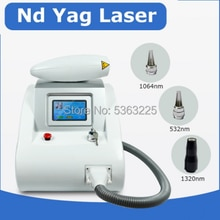 Hot koop Q Switched nd Yag Laser machine voor tattoo verwijdering beauty & eyebrowwashing