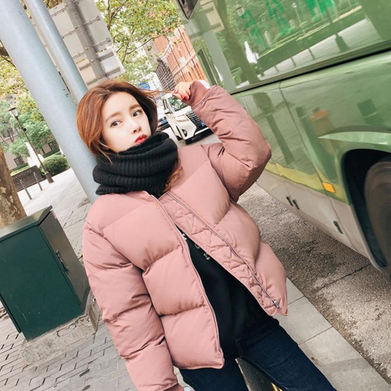 Женское зимнее пальто, Новое поступление 2020, теплый пуховик с подкладкой в Корейском стиле, повседневные Черные осенние парки, женская одеж...