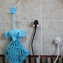 Baby Safe 1pc Children Electrical Safety Product Sticking Hooks Power Cord Plug Hanger Power Socket