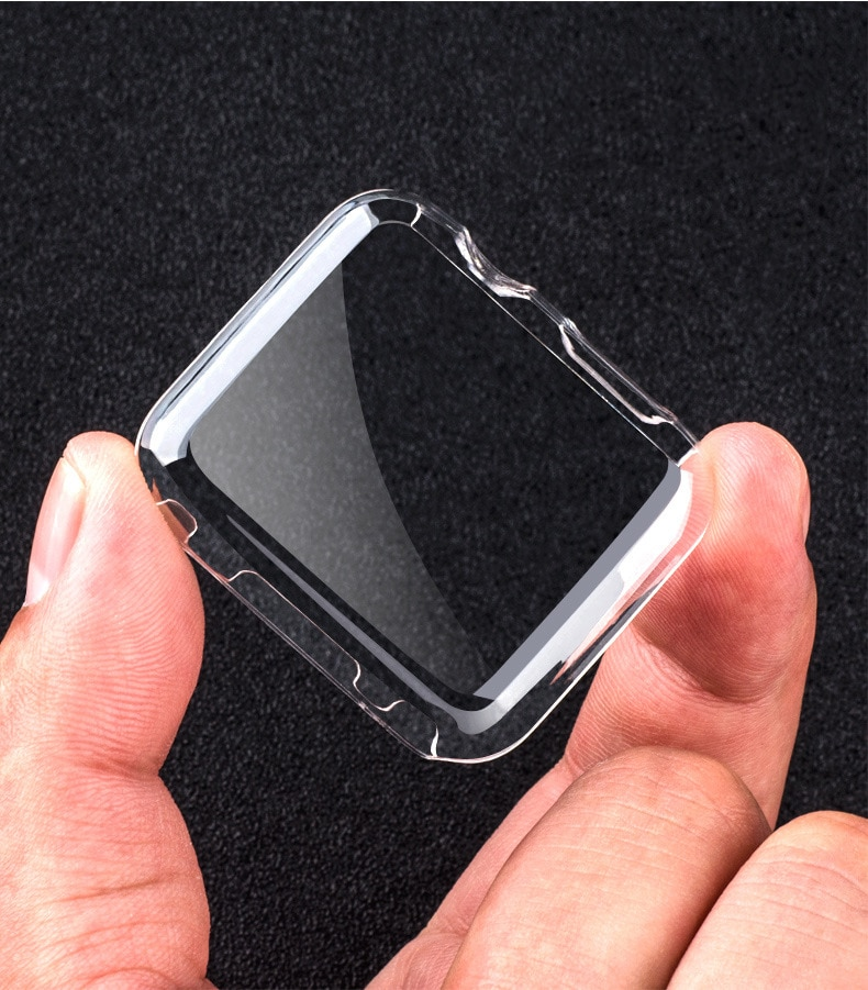 Чехол для Apple watch 5 Чехол 44 мм 40 мм iWatch чехол 42 мм 38 мм Полный ТПУ бампер Защита экрана Apple Watch 3 2 4 44 аксессуары