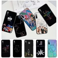 rap rm jimin jin suga j hope black mobile phone cover case for huawei y6 y7 y9 prime 2019 y9s mate 10 20 40 pro lite nova 5t