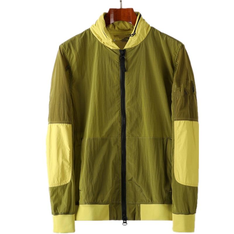 2021Spring and autumn new casual men's nylon jacket fashion coat windbreaker Sports jacket coat windbreaker