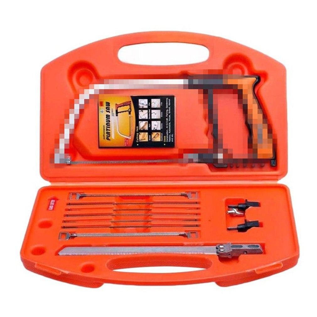 Multi-función 12 en 1 Magic sierra de mano Diy Metal madera vidrio Kit cuchillas modelo multipropósito Hobby portátil conjunto de sierra de metales