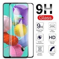 9h protective glass for samsung galaxy a50 a71 a70 a51 a 50 51 40 71 a42 a40 a52 m51 tempered glass screen protector full cover