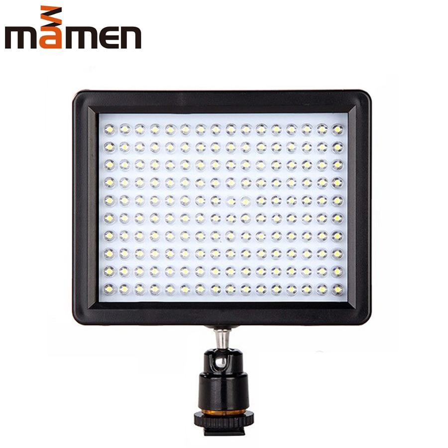 Vídeo para Canon Luz de Preenchimento Mamen Estúdio Câmera Lâmpada Nikon Dslr Filmadora Fotografia Iluminação W160 Led Luz