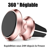 support universel aimant magnetique for voiture smartphone telephone iphone samsung