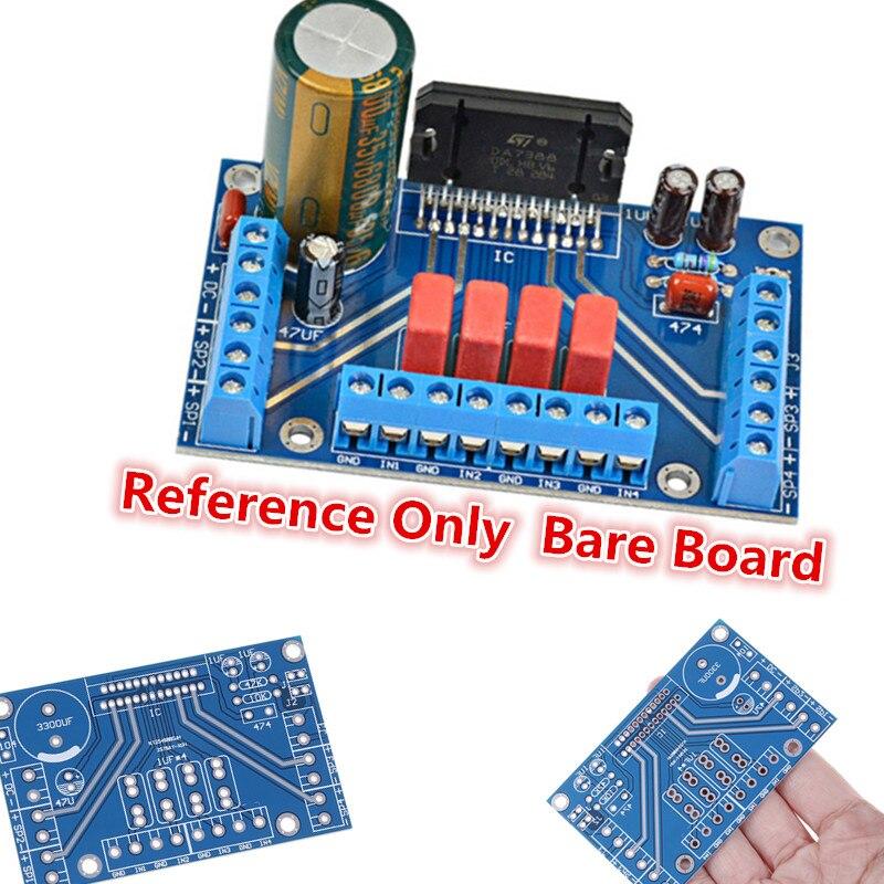1 шт. 12 В Новинка DC усилитель мощности TDA7388 четыре канала 4x41 Вт аудио BTL PC Автомобильный усилитель PCB Горячий