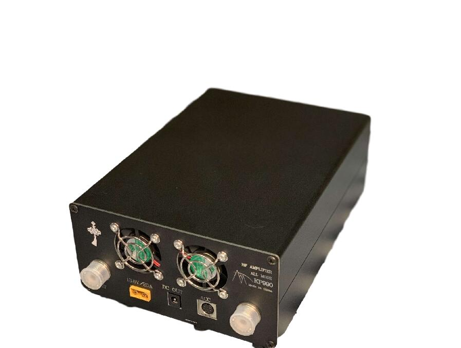 KP990 100W de potencia amplificador para KN-850 KN-990 FT-817 FT-818 KX3 HF Amateur Radio transceptor