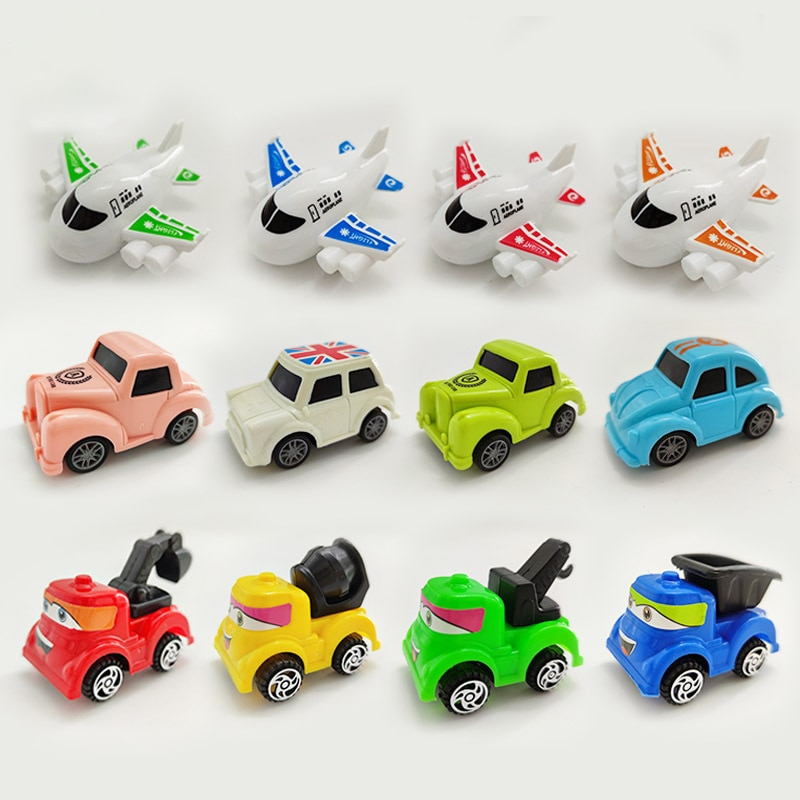 Hot Sale Kids Toys Return Engineering Vehicle Car Plane Model Car Action Toy Children Christmas Gift Toy