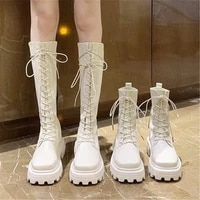 2021 sexy slim womens wedges over the knee thick bottom high heels boots autumn winter wear resistant non slip boots woman boot