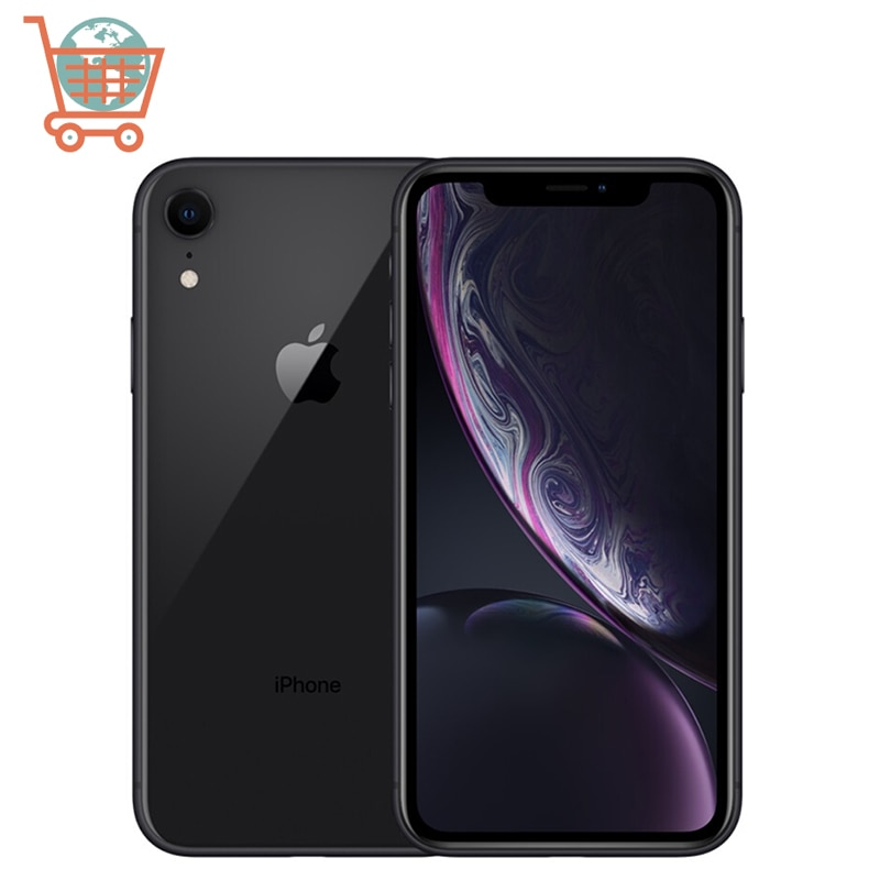 Unlocked Apple iPhone XR RAM 3GB ROM 64GB/128GB Mobile Phone LTE 6.1inch Hexa Core IOS Fingerprint Face ID NFC Apple Smartphone
