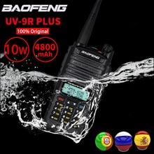 Verkauf! High Power 10W Baofeng UV-9R Plus Walkie Talkie IP67 Wasserdicht Dual Band FM HF Transceiver 10kM Ham Radio sender