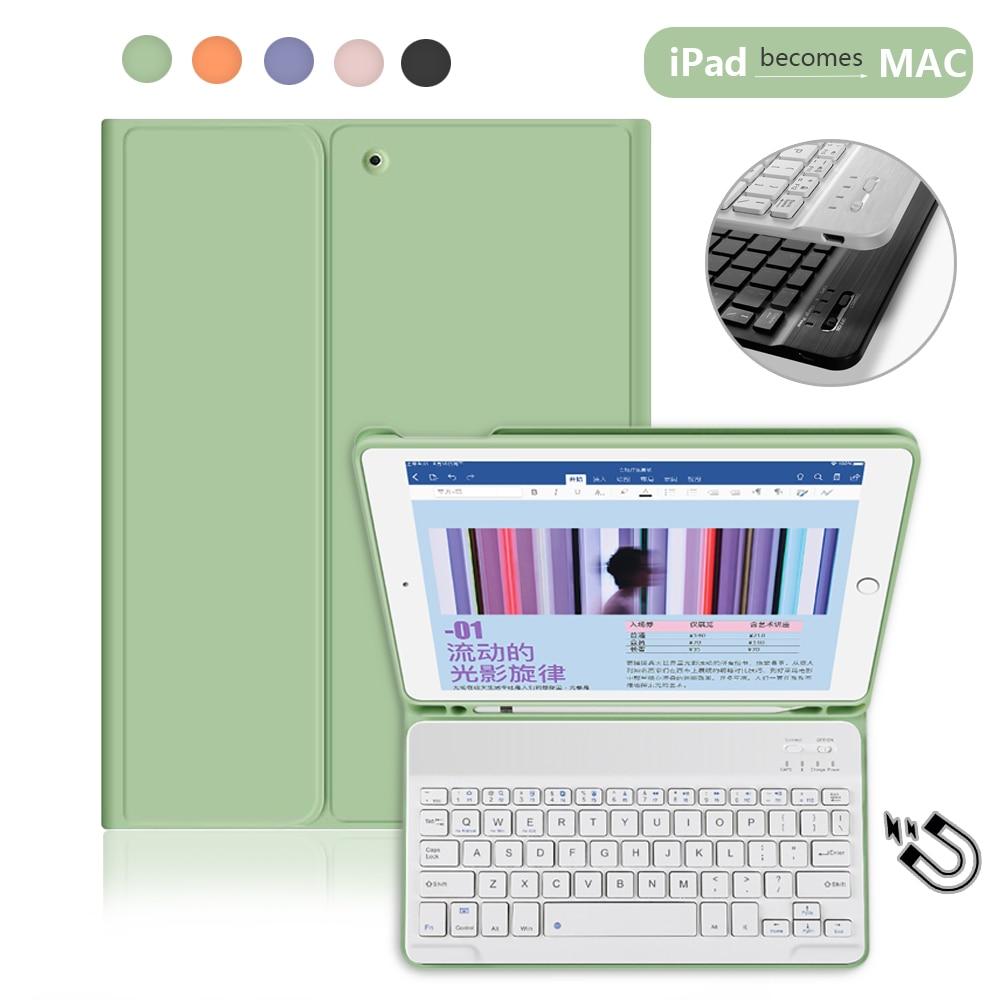 Funda para teclado inteligente Bluetooth, Pro 11 para iPad 2. ª Pro 12,9 4. ° 2020 10,2 7. ° 2019 Pro 10,5 Mini 5, funda para iPad 9,7 5/6. ° Gen