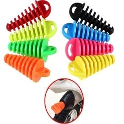 1 peças Tubo De Escape tubo de Escape Da Motocicleta Motocross PVC Ar-sangrador Plugue Silenciador de Escape Tubo de Escape Silencioso Wash Plug Protetor