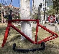 2021 new coating 700c road disc brake thru axle bicycle carbon sl7 framewheels 10012mm 14212mm 2 year warranty frameset