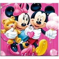 Peinture diamant theme Mickey et couple amoureux  broderie complete 5D  perles carrees ou rondes  points de croix  strass  mosaique  decoration dinterieur  a faire soi-meme