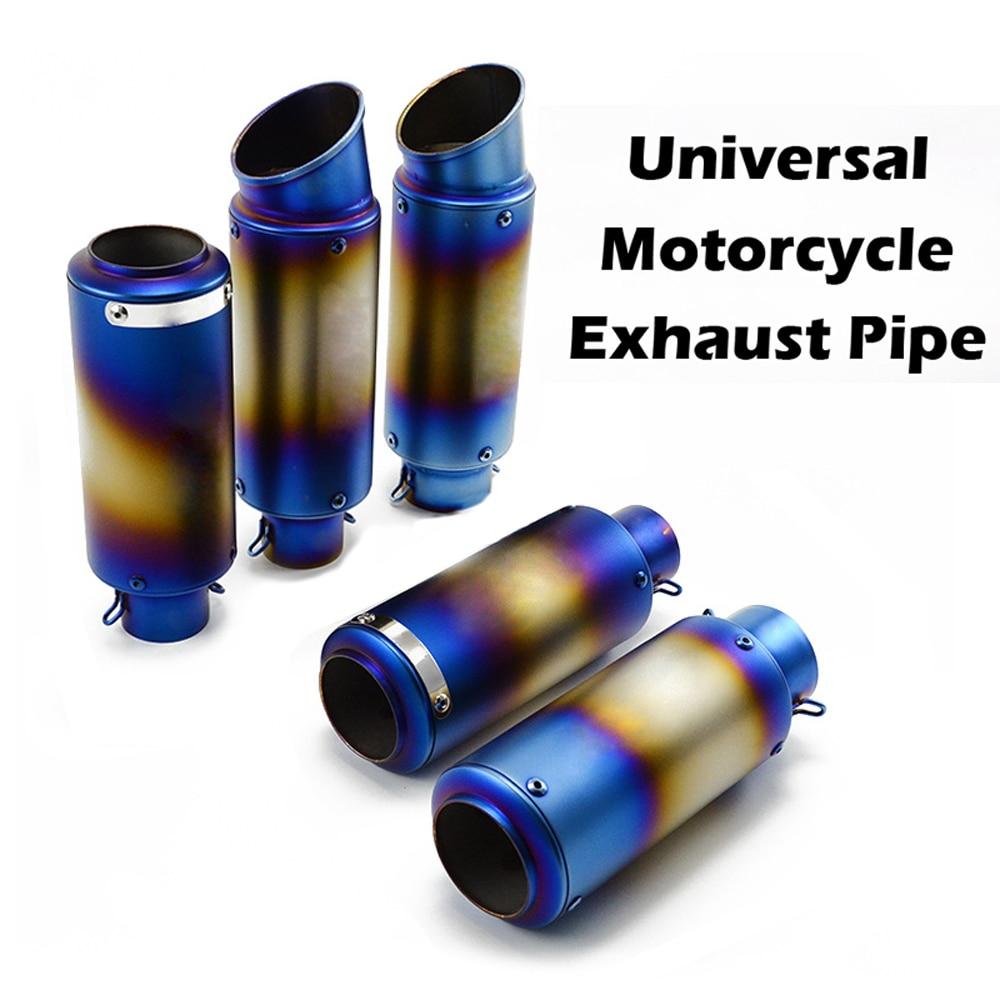Выхлопная труба для мотоцикла, глушитель для внедорожника Z750 Z900 Tmax 500 GSXR 750 MT07 NMAX 125 Z800 G310GS LTZ 400 Ninja 300