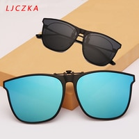 Солнцезащитные очки поляризационные для мужчин и женщин UV-400, квадратные фотохромные, с защелкой, для путешествий, вождения