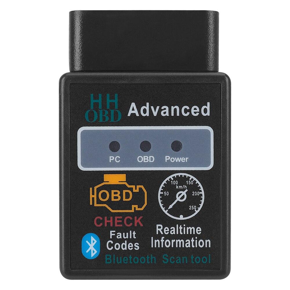 HH OBD 2 ELM 327 autobús ver código de error Sanner para BMW E91 E92 E93 M3 E60 E61 F10 F07 M5 E64 F12 X3 OBD adaptador de interfaz